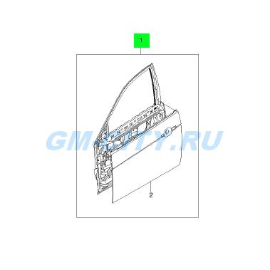 �������� ����� ��� Chevrolet Aveo (������� ����) - 96896991