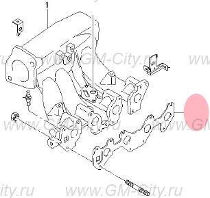 Прокладка на шевроле ланос на двигатель